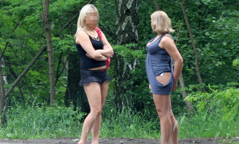 Prostytutki przy drodze