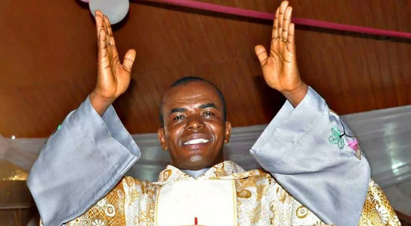 This is the Rev Mbaka prophecy on Hope Uzodinma everyone's talking about