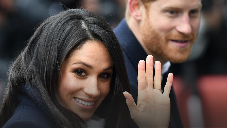 epa06588754 - BRITAIN ROYALTY (Prince Harry and Meghan Markle hold engagemements in Birmingham)