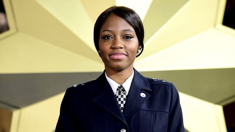 Khafi's management says she remains a proud black female officer of the UK Metropolitan police. [Getty Images]