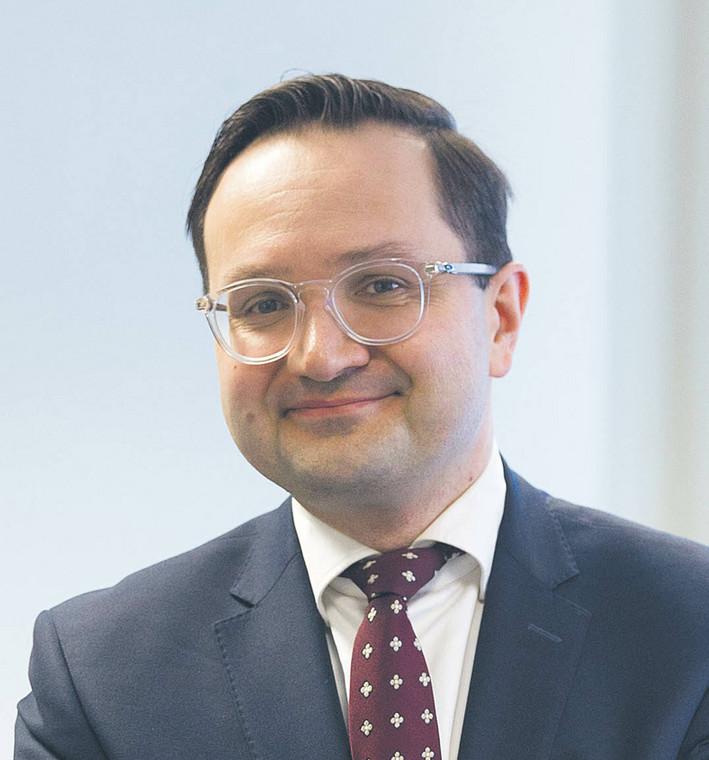 Mariusz Golecki, rzecznik finansowy  fot. Wojtek Górski