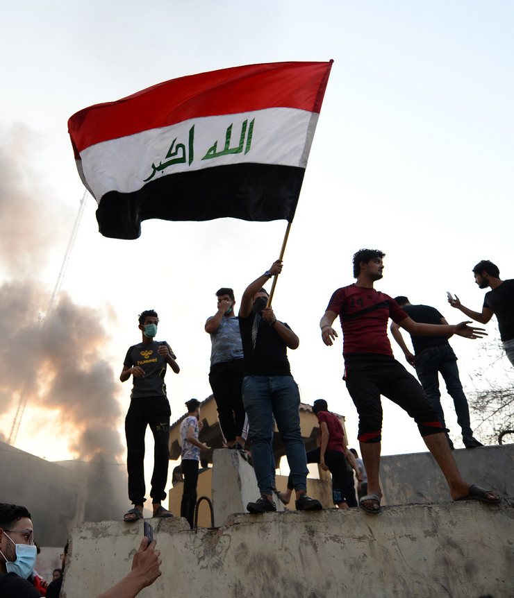Irak, protesti, EPA- MURTAJA LATEEF