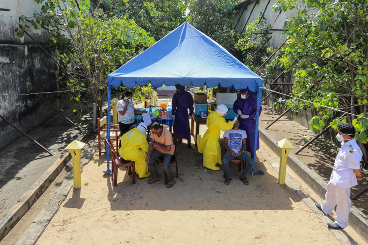 Šri Lanka, korona virus
