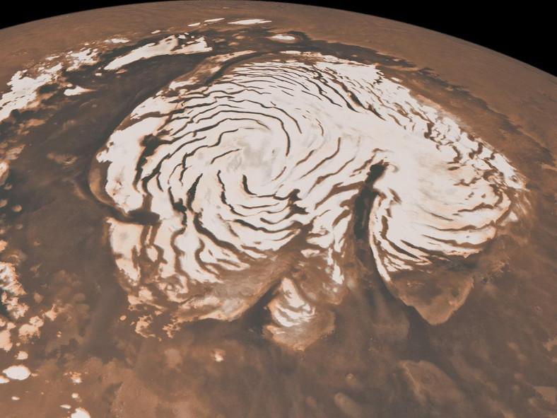 mars ice cap
