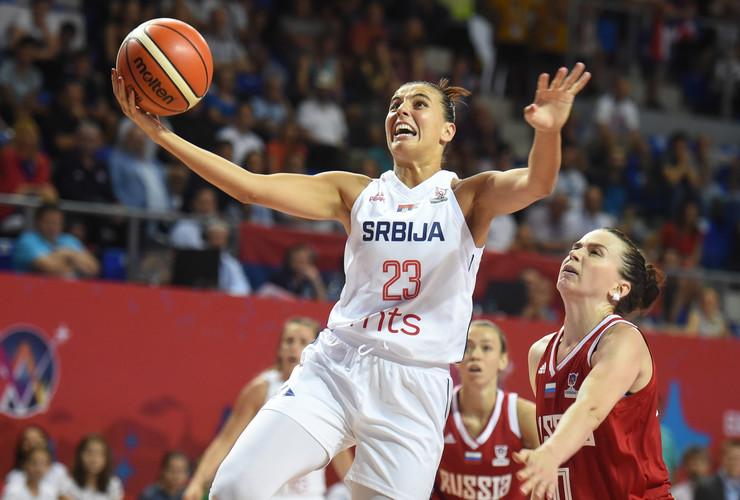 Ženska košarkaška reprezentacija Srbije, Ženska košarkaška reprezentacija Rusije