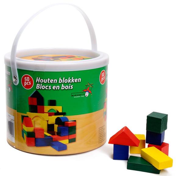 Obojene drvene kocke za decu