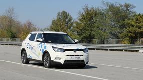 SsangYong przeprowadził testy samochodu autonomicznego