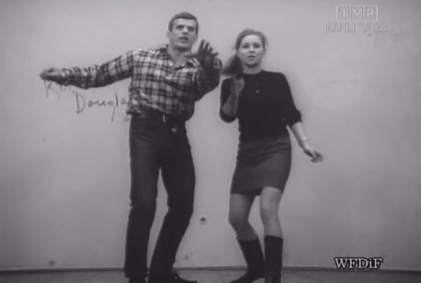 Marian Glinka i Anita Dymszówna