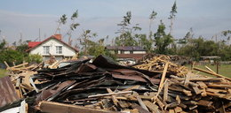 Wieś Rytel po gwałtownej burzy. Jak wygląda?