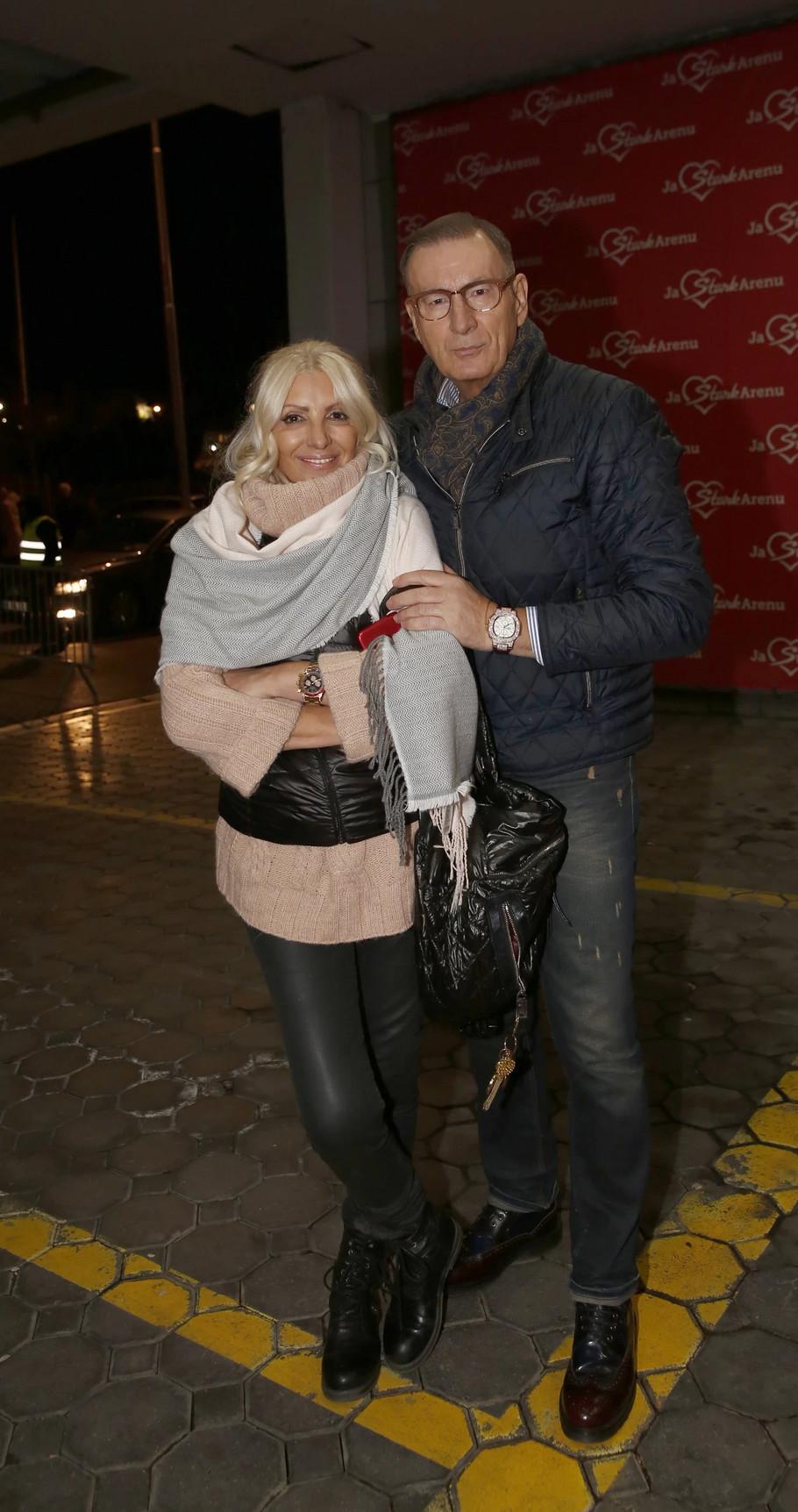 Dragica Radosavljević Cakana sa suprugom