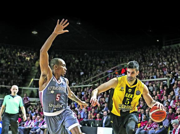 Dušan Šakota je uzdanica AEK-a na fajnal-foru FIBA Lige šampiona