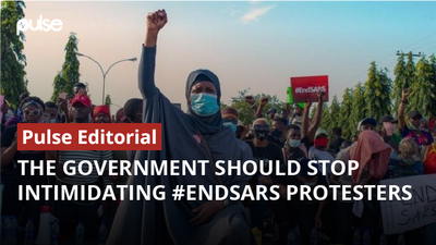 The government should stop intimidating #EndSARS protesters [Pulse Editorial]