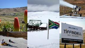 Tiffindell - jedyny ośrodek narciarski w RPA
