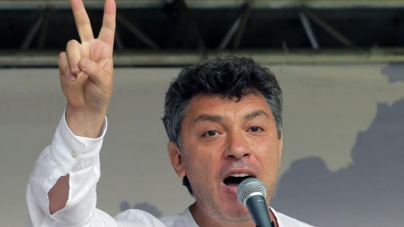 Niemcow oskarżał Putina o agresję na Ukrainę. Ostatni wywiad