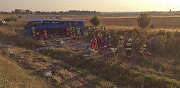Wypadek autobusu z dziećmi jadącymi na wakacje. Są ranni!