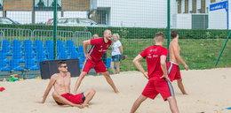 Polscy siatkarze zaczęli zgrupowanie. Na początek harowali na plaży