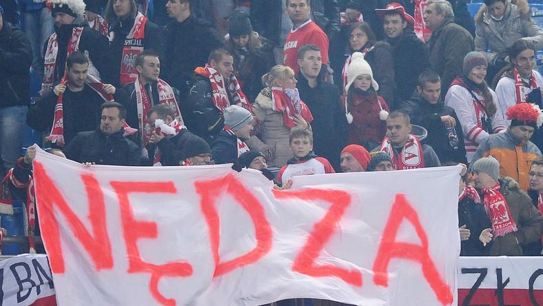 Kibice nie zmienili zdania o grze polskich piłkarzy