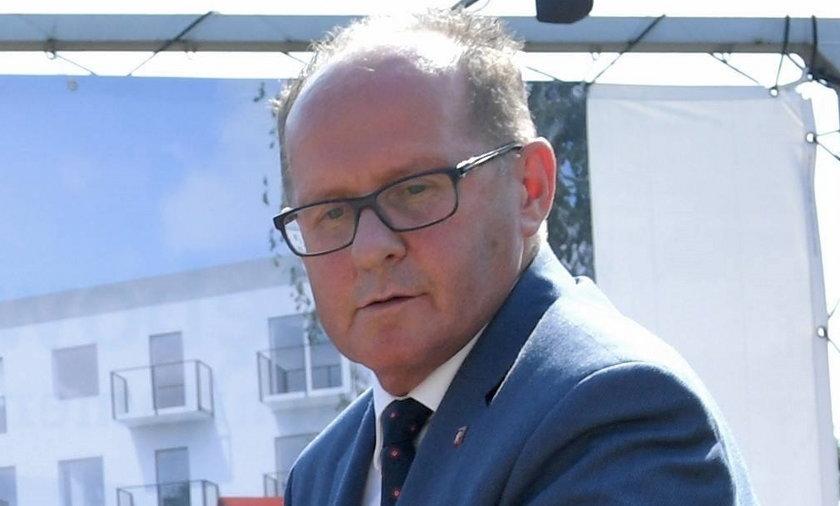 Burmistrz Dębicy Mariusz Szewczyk