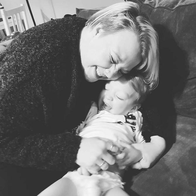 Džekson sa mamom