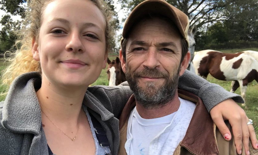 Sophie Perry i Luke Perry