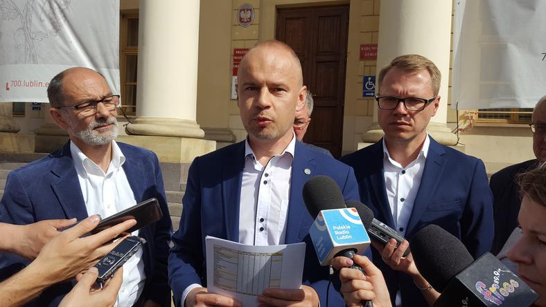 Bartosz Margul przedstawił dane o przyjmowanych uchodźcach