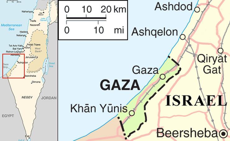 Pojas Gaze, Wikipedia