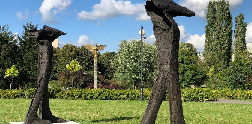 Abakanowicz w Parku Rzeźby