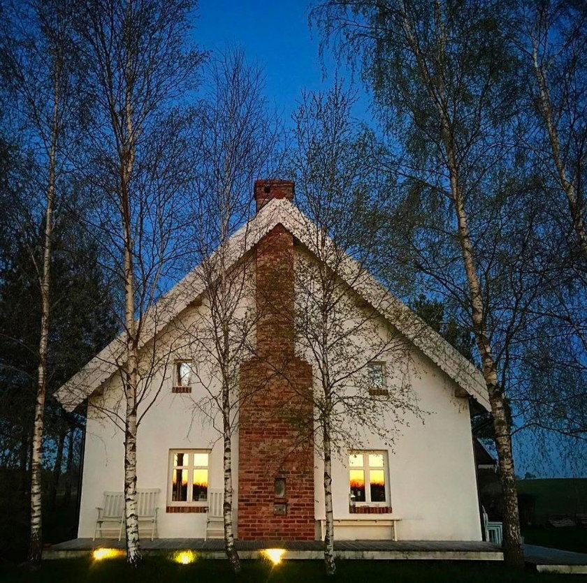 Dorota Szelągowska chwali się domkiem na wsi. Jest klimat!
