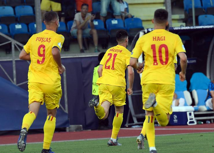 Mlada fudbalska reprezentacija Rumunije, Mlada fudbalska reprezentacija Hrvatske