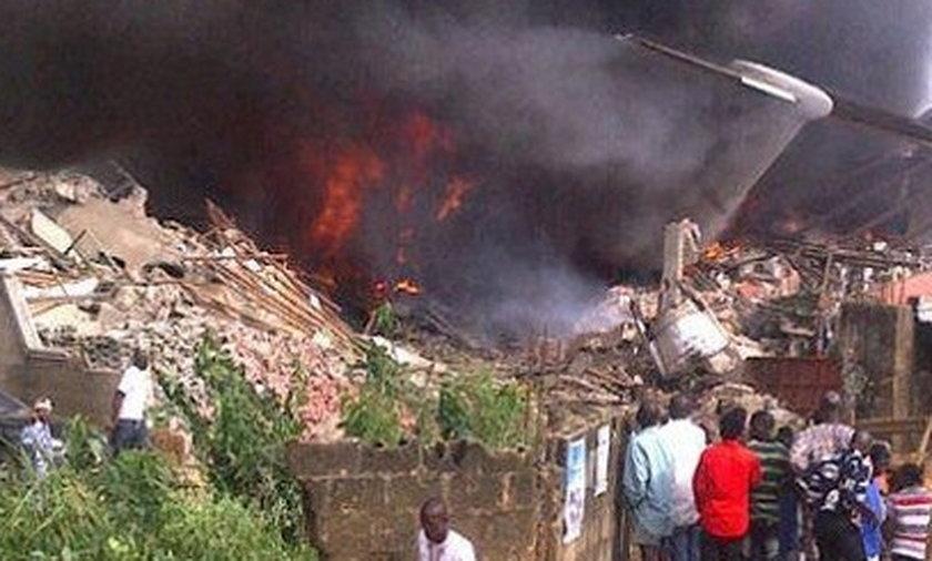 nigeria, katastrofa, samolot