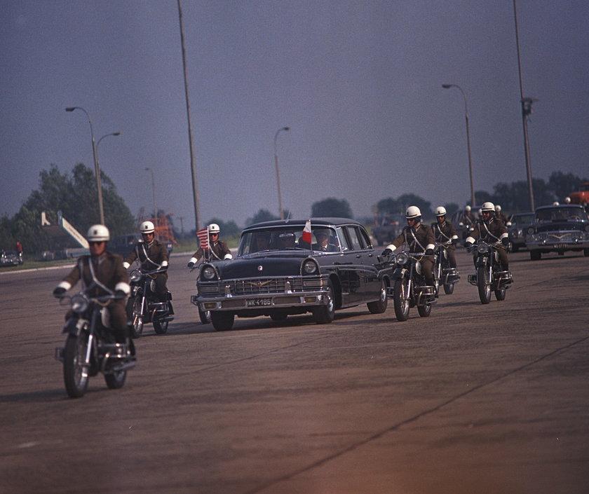 Uroczystość pożegnania prezydenta Richarda Nixona