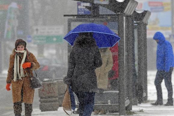 Od večeras PADA SNEG, sutra će se ponovo zabeleti cela Srbija, a evo do kada će trajati POSLEDNJI HLADNI TALAS ove zime