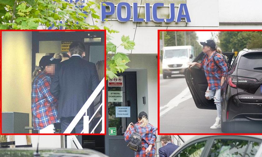 Beata K. stawiła się w komisariacie policji.