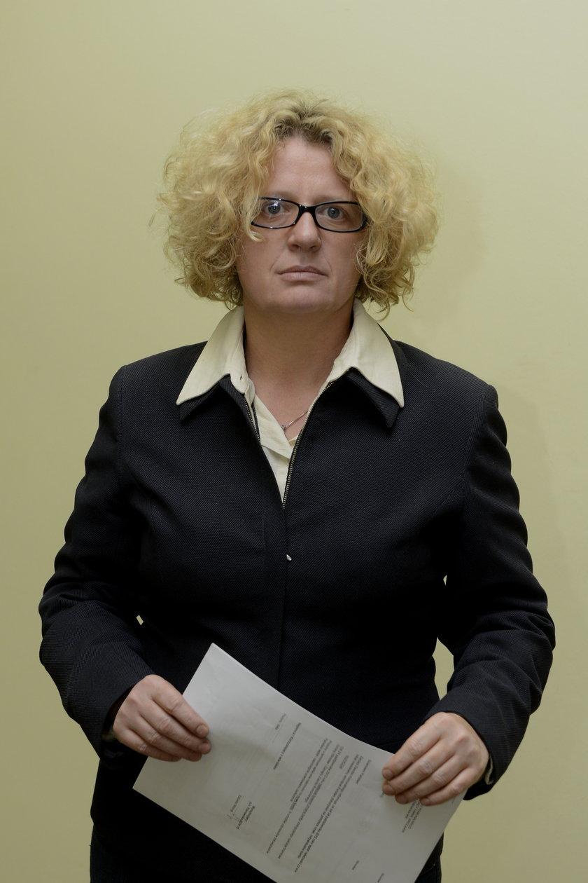 Urszula Hamkało (51 l.) z Zarządu Zasobu Komunalnego