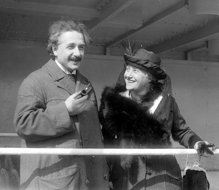 Albert i Elza Ajnštajn