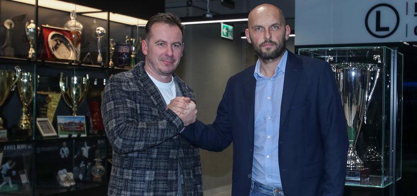 Dyrektor sportowy Legii Radosław Kucharski: Zwolnienie trenera było koniecznością