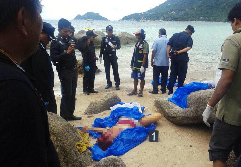 Kto zatłukł na śmierć motyką dwoje młodych turystów wypoczywających na malowniczej wyspie Kho Tao w Tajlandii.