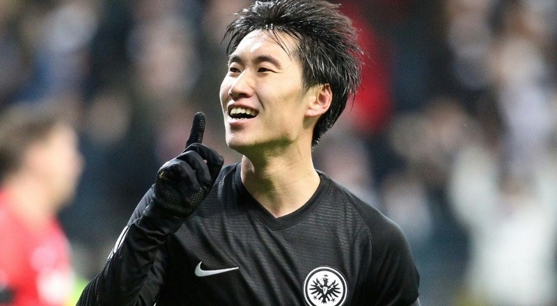 Kamada out to break Bundesliga duck after Europa League hat-trick