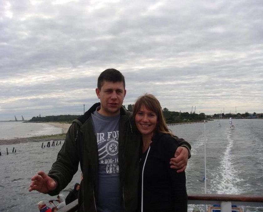 zamordowani w Gdańsku Adam K. (+ 33 l.) oraz jego żona Agnieszka K. (+ 30 l.)