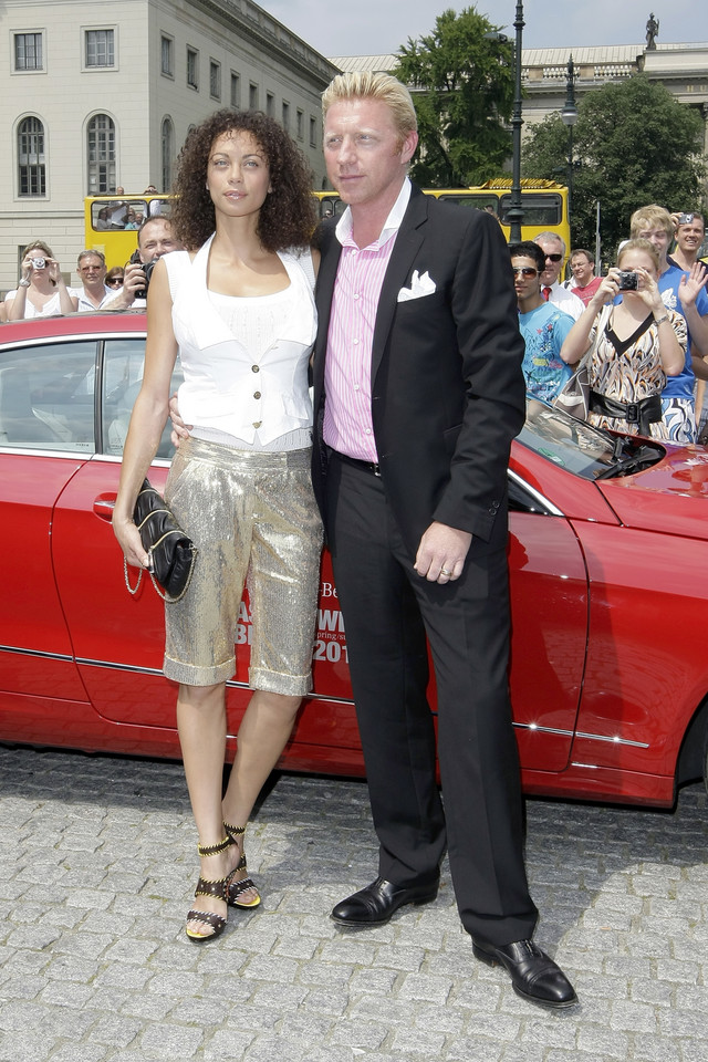Lilly Becker i Boris Becker w 2009 roku