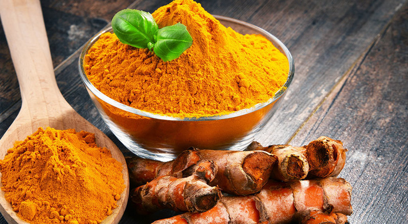 How to get rid of acne with flour and turmeric face mask