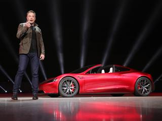 Tesla Motors 2020 Roadster Unveiled