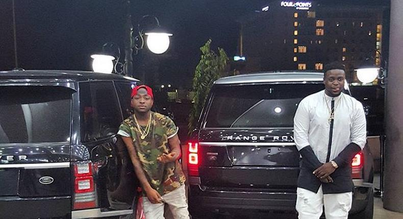Davido, his brother and their new rides