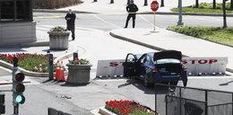 """Samochód wjechał w barykadę przy Kapitolu! """"Zostaliśmy zaatakowani"""". Dwie osoby nie żyją"""