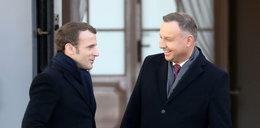 Menu na wizytę Macrona w Polsce. Podali mu pasztet