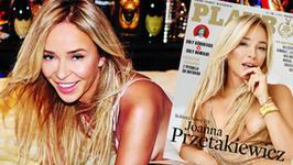 """Joanna Przetakiewicz kusi półnagim ciałem w """"Playboyu"""". Nie wstydzi się nagości"""
