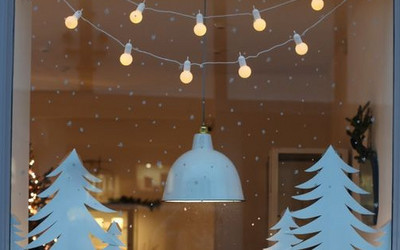 świąteczne Dekoracje Okien Sprytne I łatwe Ale Na Niektóre