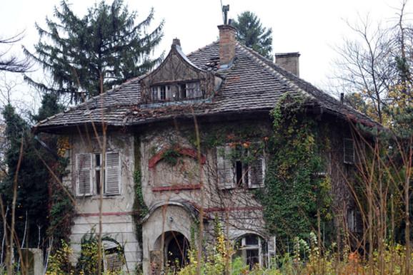 Vila Rankovića na Senjaku