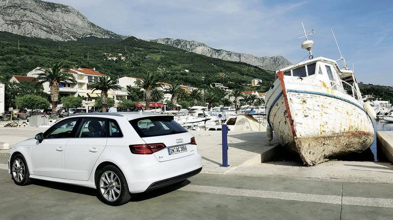 Audi A3 g-tron odwiedziło różne kraje europejskie. Było m.in. w Chorwacji, do której dojechało bez przeszkód