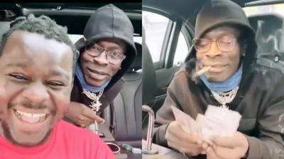 New video shows Shatta Wale  having fun abroad against health reports (WATCH)